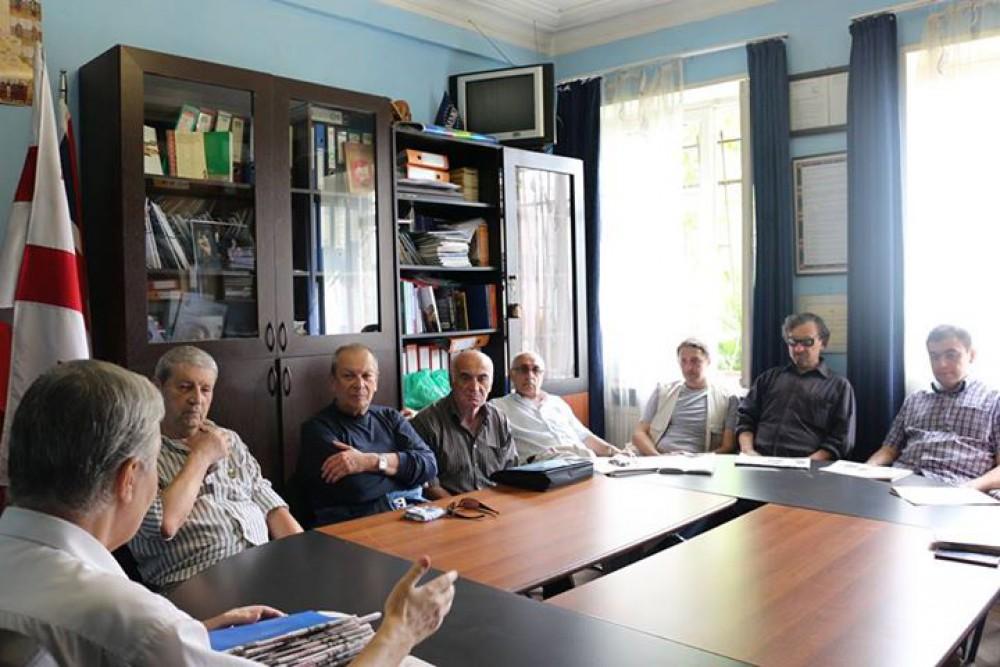 ეროვნული უმცირესობების ლიდერთა საბჭოს მორიგი შეხვედრა